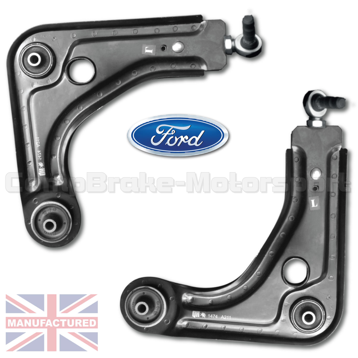 FOR RENAULT 5 GT TURBO NEW WISHBONE BOTTOM BALL JOINTS PAIR OE SPEC QUALITY