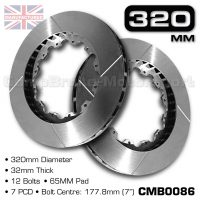 CMB0086-BRAKE-DISCS-[320MM-X-32MM-12-BOLT-65MM-PAD-7PCD]