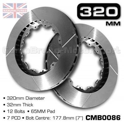 CMB0086-BRAKE-DISCS-[320MM-X-32MM-12-BOLT-65MM-PAD-7PCD]