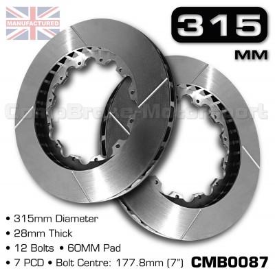 CMB0087-BRAKE-DISCS-[315MM-X-28MM-12-BOLT-60MM-PAD-7PCD]
