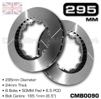 CMB0090-BRAKE-DISCS-[295MM-X-24MM-8-BOLT-50MM-PAD-6.5PCD]
