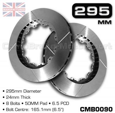 CMB0090-BRAKE-DISCS-[295MM-X-24MM-8-BOLT-50MM-PAD-6.5PCD]