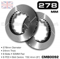 CMB0092-BRAKE-DISCS-[278MM-X-24MM-8-BOLT-50MM-PAD-6PCD]