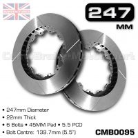 CMB0095-BRAKE-DISCS-[247MM-X-22MM-6-BOLT-45MM-PAD-5.5PCD]