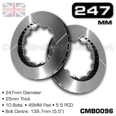 CMB0096-BRAKE-DISCS-[247MM-X-25MM-10-BOLT-45MM-PAD-5.5PCD]