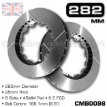 CMB0098-BRAKE-DISCS-[282MM-X-25MM-8-BOLT-45MM-PAD-6.5PCD]