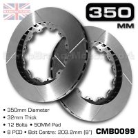 CMB0099-BRAKE-DISCS-[350MM-X-32MM-12-BOLT-50MM-PAD-8PCD]