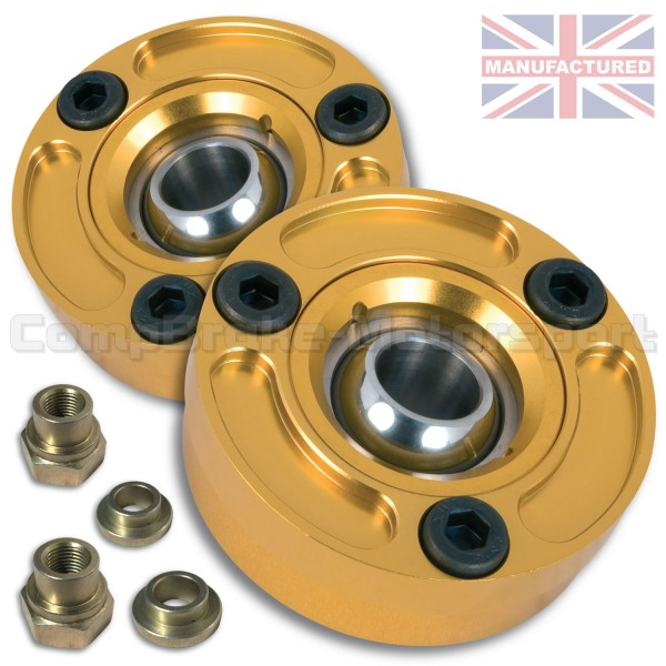 Renault Clio Front Fixed Suspension Top Mount Pair