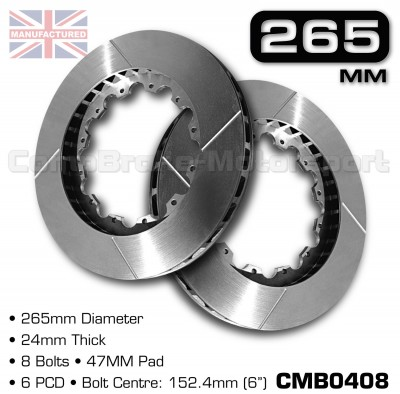 CMB0408-BRAKE-DISCS-[265MM-X-24MM-8-BOLT-47MM-PAD-6PCD]