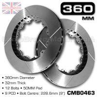 CMB0463-BRAKE-DISCS-[360MM-X-32MM-12-BOLT-50MM-PAD-9PCD]