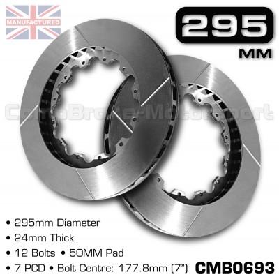 CMB0693-BRAKE-DISCS-[295MM-X-24MM-12-BOLT-50MM-PAD-7PCD]