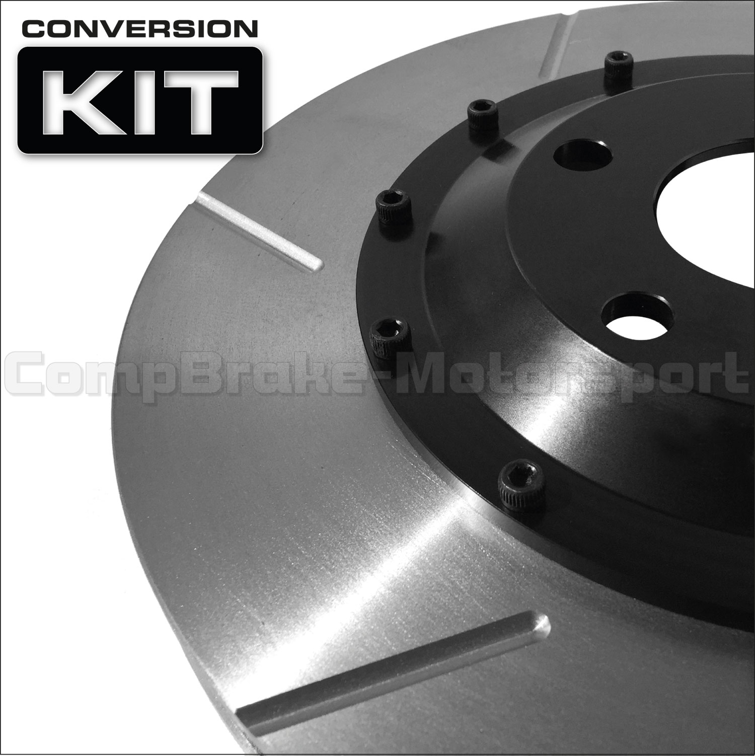 VW Golf Mk4 312 x 25mm 2-Piece Front Brake Disc Conversion Kit [Bell/Rotor  Combo] Pair - 2 Piece Disc Conversions, VW, Golf MK4 - www compbrake com