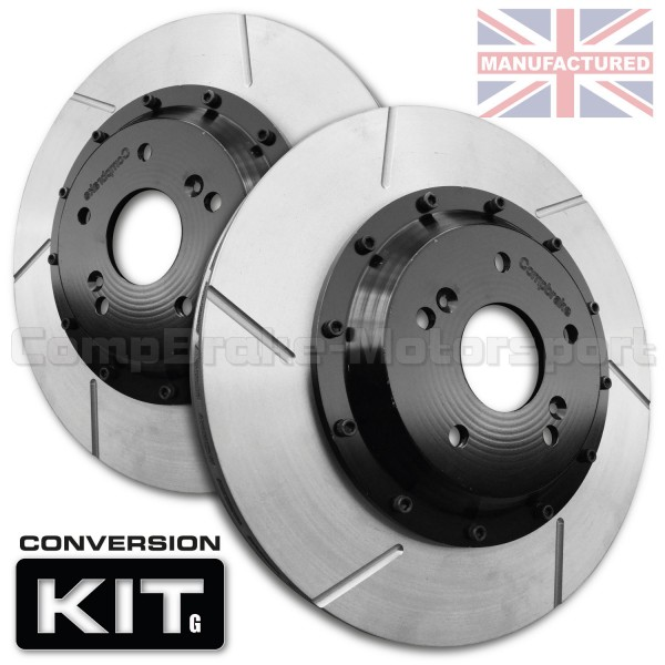 VW Golf Mk4 312 x 25mm 2-Piece Front Brake Disc Conversion Kit [Bell