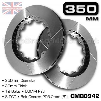 CMB0942-BRAKE-DISCS-[350MM-X-30MM-12-BOLT-60MM-PAD-8PCD]