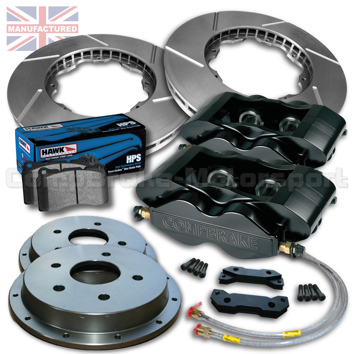 ford fiesta mk3 5 4 15 front brake kit 4 pot calipers pro race 3 300mm x 25mm rotors. Black Bedroom Furniture Sets. Home Design Ideas