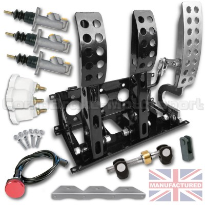 CMB0666-HYD-PEDAL-BOX-[FLOOR-MOUNTED]-SPORTLINE-[HYDRAULIC]-UNIVERSAL-(3-PEDAL)-NEW-KIT[A]