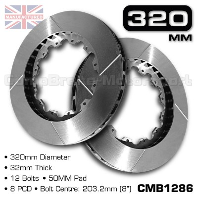 CMB1286-BRAKE-DISCS-[320MM-X-32MM-12-BOLT-50MM-PAD-8PCD]