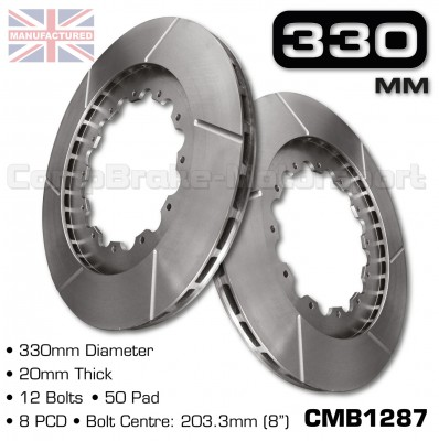 CMB1287-BRAKE-DISCS-[330MM-X-20MM-12-BOLT-50MM-PAD-8PCD]