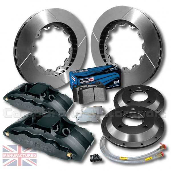 Ford Focus M3 18 Front Brake Kit 6 Pot Calipers Pro