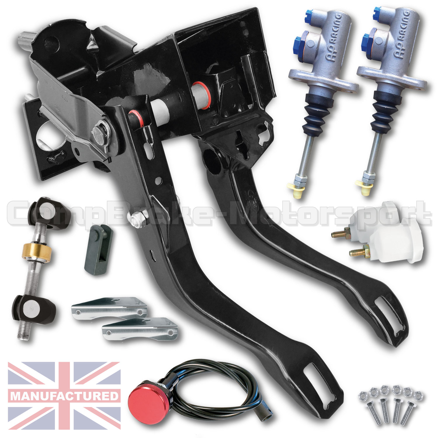 Ford Escort Sierra Cosworth Top Mounted Cable Pedal Box