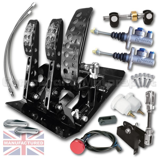 Cmb Cab Pedal Box Floor Mounted Sportline Cable Multi Application Pedal Kitb Ap Cab X on Range Rover Track Rod
