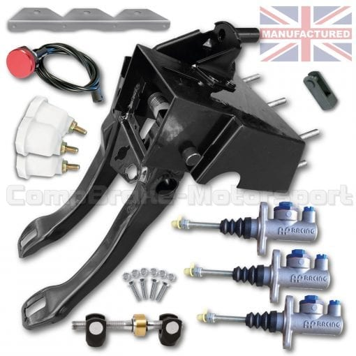 CMB0407-AP-PEDAL-BOX-[UNDERSLUNG]-DIRECT-REPLACEMENT-AP-CYLINDERS-[HYDRAULIC]-FORD-ESCORT-SIERRA-COSWORTH-(2-PEDAL-CLUTCH)-KIT[A]