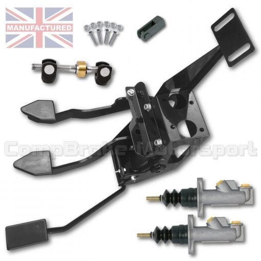 CMB0430-PEDAL-BOX-[UNDERSLUNG]-DIRECT-REPLACEMENT-[CABLE]-LOTUS-TALBOT-SUNBEAM-(3-PEDAL-CLUTCH)-STD