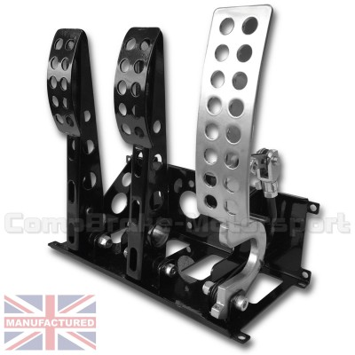 CMB0666-CAB-PEDAL-BOX-[FLOOR-MOUNTED]-SPORTLINE-[CABLE]-UNIVERSAL-(3-PEDAL)-NEW-BOX