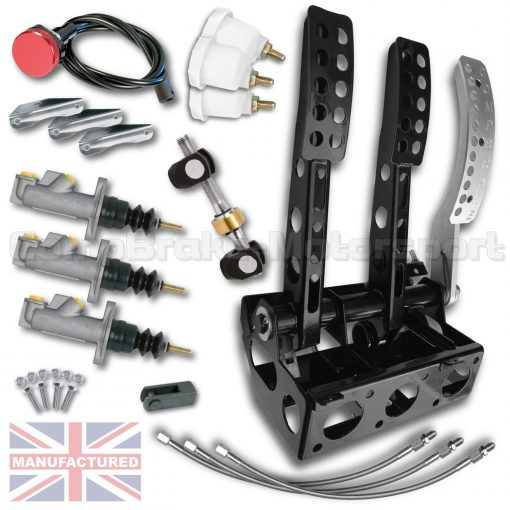 CMB0703-PEDAL-BOX-[FLOOR-MOUNTED]-SPORTLINE-[HYDRAULIC]-REAR-FACING-UNIVERSAL-(3-PEDAL)-KIT[B]