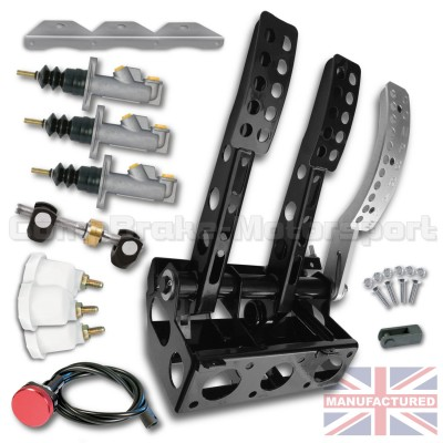 CMB0703-PEDAL-BOX-[FLOOR-MOUNTED]-UNIVERSAL-[HYDRAULIC]-FORWARD-FACING-2016-(3-PEDAL)-KIT[A]