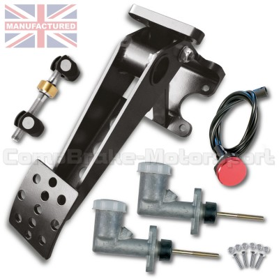 CMB0730-PEDAL-BOX-[UNDERSLUNG]-UPRATED-[HYDRAULIC-INTEGRAL]-UNIVERSAL-SOLID-TYPE-[1-PEDAL-DUAL-CYLINDER]-KIT[A]