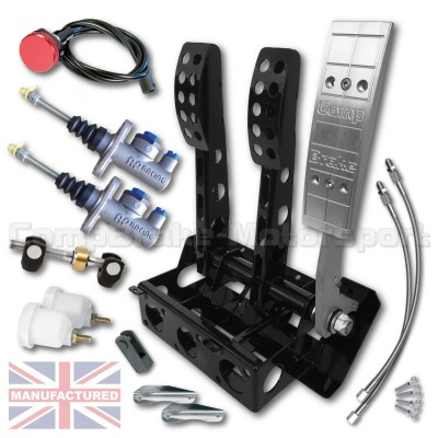 CMB1350-AP-PEDAL-BOX-[FLOOR-MOUNTED]-UNIVERSAL-AP-CYLINDERS-[CABLE]-FORWARD-FACING-2016-(3-PEDAL)-KIT[B]