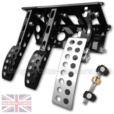CMB6667-CAB-PEDAL-BOX-[UNDERSLUNG]-NEW-STYLE-SPORTLINE-[CABLE]-UNIVERSAL-(3-PEDAL)-BOX-BAR