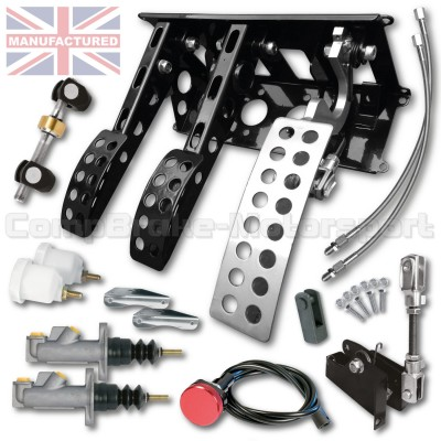 CMB6667-CAB-PEDAL-BOX-[UNDERSLUNG]-NEW-STYLE-SPORTLINE-[CABLE]-UNIVERSAL-(3-PEDAL)-KIT[B]