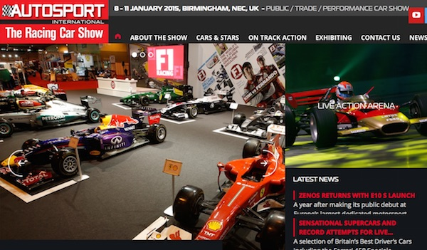 Autosport Event Birmingham NEC January