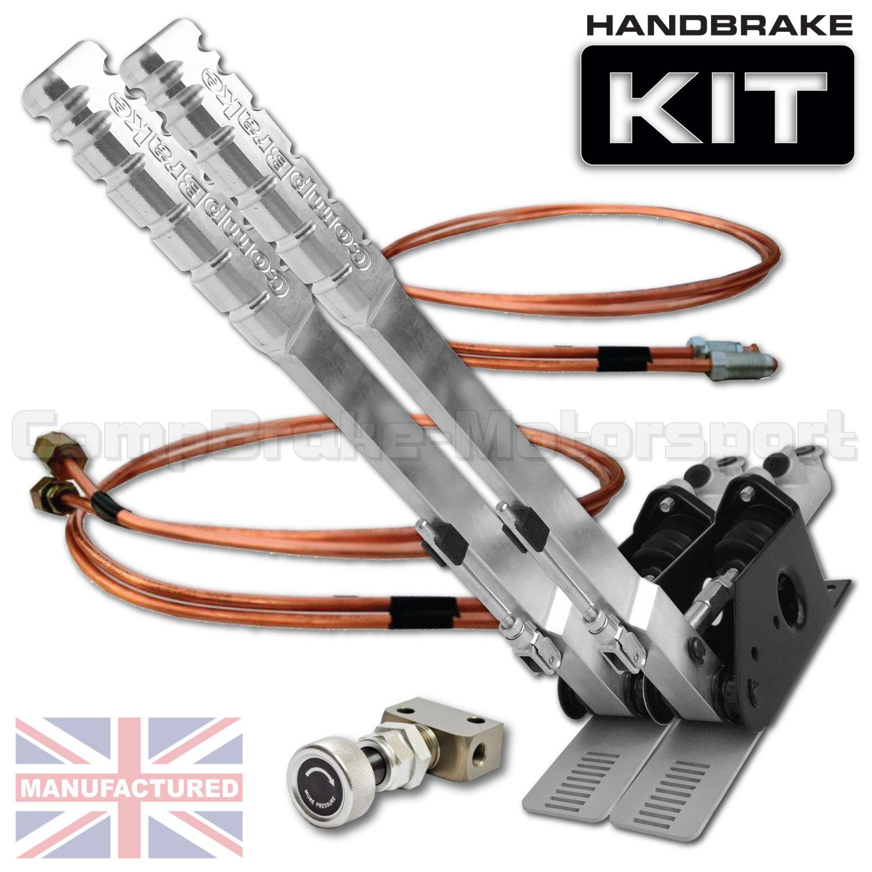 Hydraulic Handbrake Kit : Mm dual vertical hydraulic handbrake kit premier
