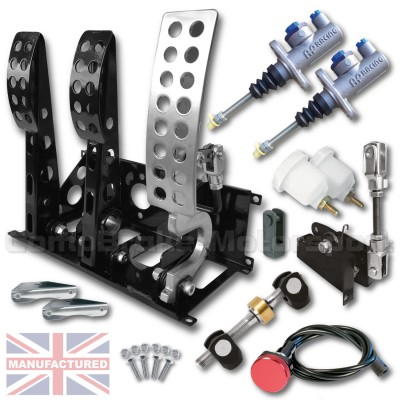 CMB0666-CAB-AP-PEDAL-BOX-[FLOOR-MOUNTED]-SPORTLINE-AP-CYLINDERS-[CABLE]-UNIVERSAL-(3-PEDAL)-NEW-KIT[A]
