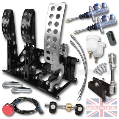 CMB0666-CAB-AP-PEDAL-BOX-[FLOOR-MOUNTED]-SPORTLINE-AP-CYLINDERS-[CABLE]-UNIVERSAL-(3-PEDAL)-NEW-KIT[B]