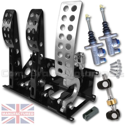 CMB0666-CAB-AP-PEDAL-BOX-[FLOOR-MOUNTED]-SPORTLINE-AP-CYLINDERS-[CABLE]-UNIVERSAL-(3-PEDAL)-NEW-STD