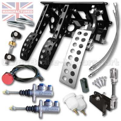 CMB6667-CAB-AP-PEDAL-BOX-[UNDERSLUNG]-NEW-STYLE-SPORTLINE-[CABLE-AP-CYLINDERS]-UNIVERSAL-(3-PEDAL)-KIT[B]