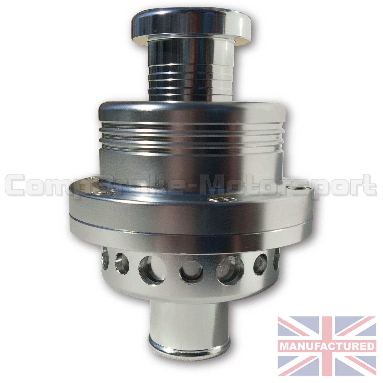 Honda Silver Spring >> Atmospheric 25mm Universal Turbo Blow Off Valve (Dump Valve) & Blanking Plug Silver - Dump ...