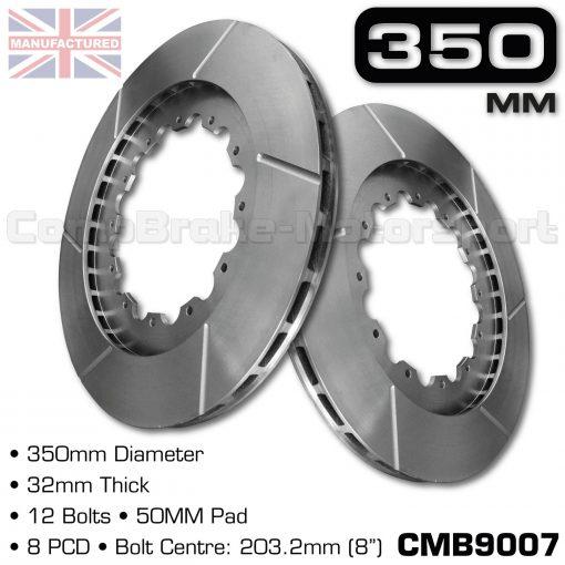 CMB9007-BRAKE-DISCS-[350MM-X-32MM-12-BOLT-50MM-PAD-8PCD]