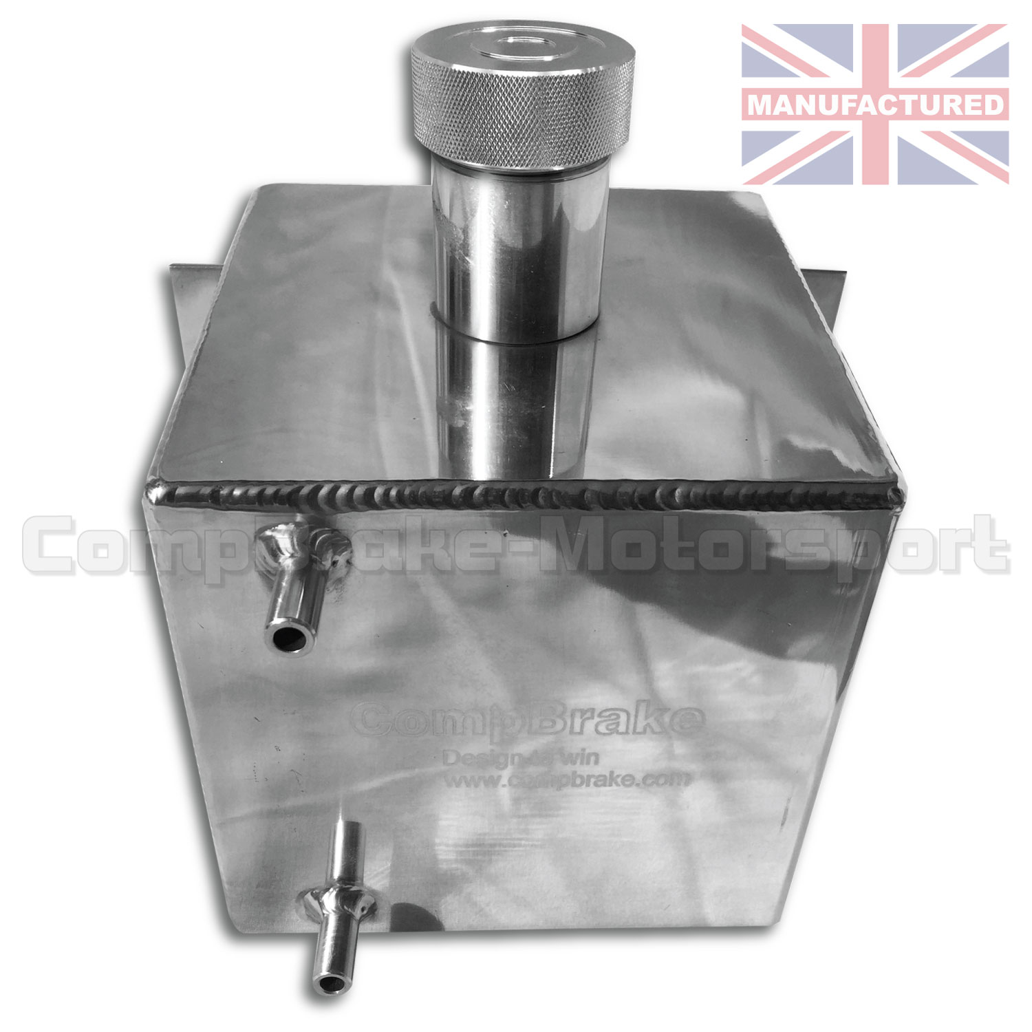 Diesel Exhaust Fluid >> Water Header Tank 4 LTR - Vertical Square Alloy 250mm X 150mm X 150mm With Cap - Fuel System ...