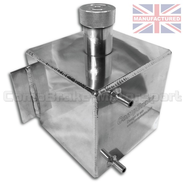 Water Header Tank 4 LTR - Vertical Square Alloy 250mm X 150mm X ...