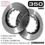 CMB0099-BRAKE-DISCS-[350MM-X-32MM-12-BOLT-50MM-PAD-8PCD]