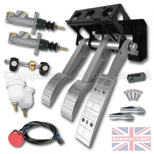 CMB0702-ALI-PEDAL-BOX-[UNDERSLUNG]-FORWARD-FACING-[CABLE]-UNIVERSAL-2016-(3-PEDAL)-KIT[A]-(PREMIER)