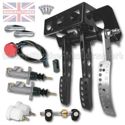 CMB0702-PEDAL-BOX-[UNDERSLUNG]-FORWARD-FACING-[CABLE]-UNIVERSAL-2016-(3-PEDAL)-KIT[A]