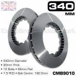 CMB9010-BRAKE-DISC-[340MM-X-30MM-12-BOLT-66MM-PAD-7.5PCD]