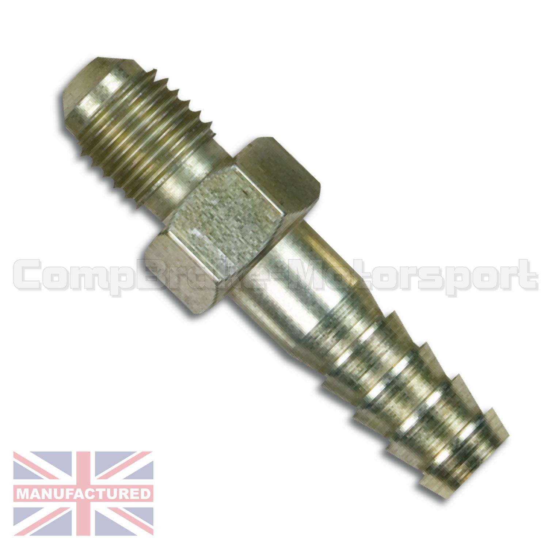 Master cylinder union to push fitting handbrake