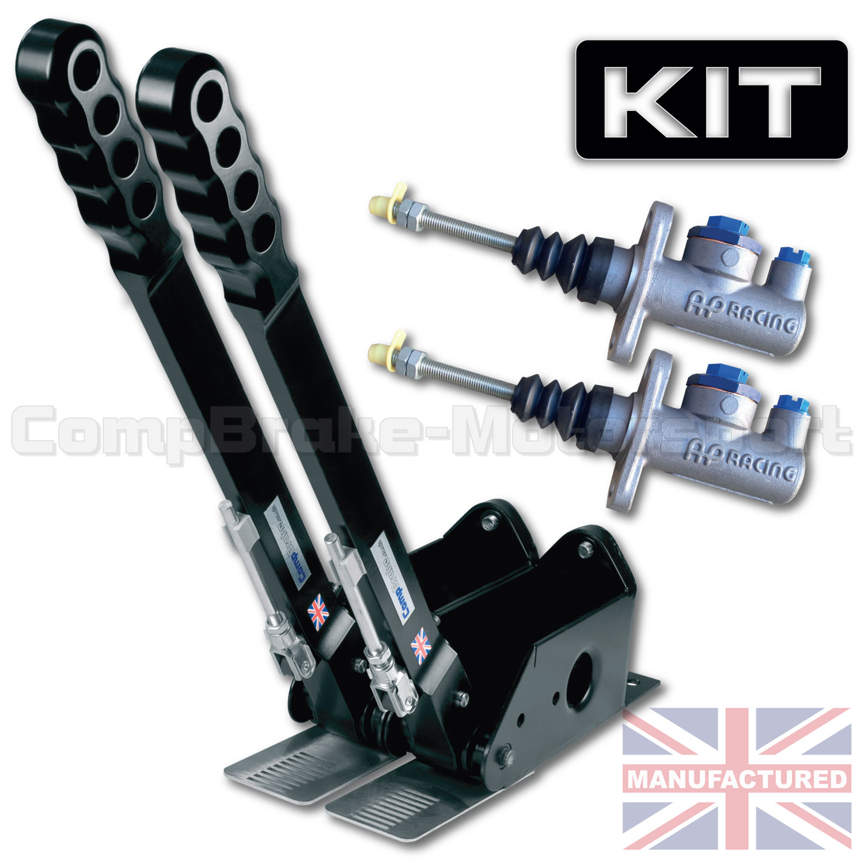 Hydraulic Cylinder Kits : Mm dual vertical hydraulic handbrake kit handle
